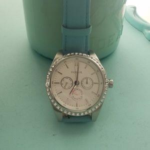 Fossil Women's Crystal Watch
